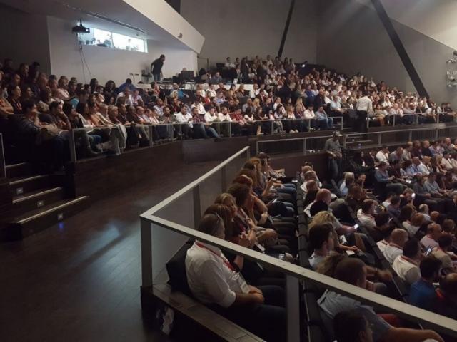 קהל משתתפים בהרצאה