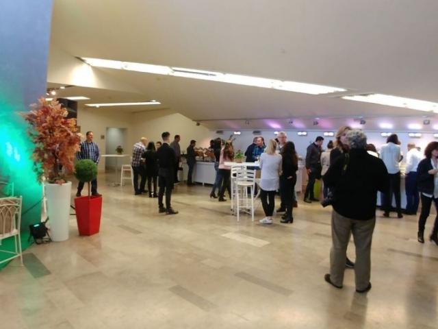 התכנסות אורחים המרכז כנסים וואהל סנטר